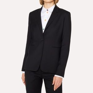 Requirements women 💯 pure new wool blazer size 14